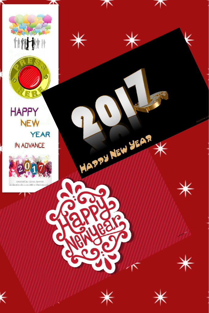 Happy New Year Everyone!!😊😊