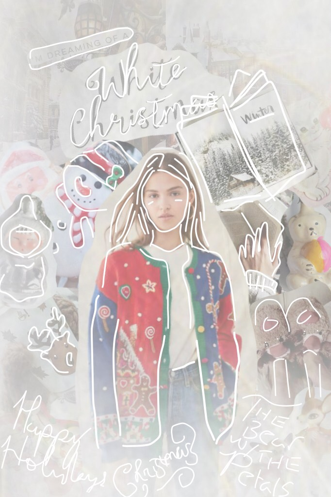 ☁️Tap☁️ If it was 4 degrees colder this morning, I WOULD HAVE HAD SNOWWWW😩😩 Blechhh I'm so ready for Christmas😂  Tags: Draw, pconly, Christmas, feature this, pc only, winter