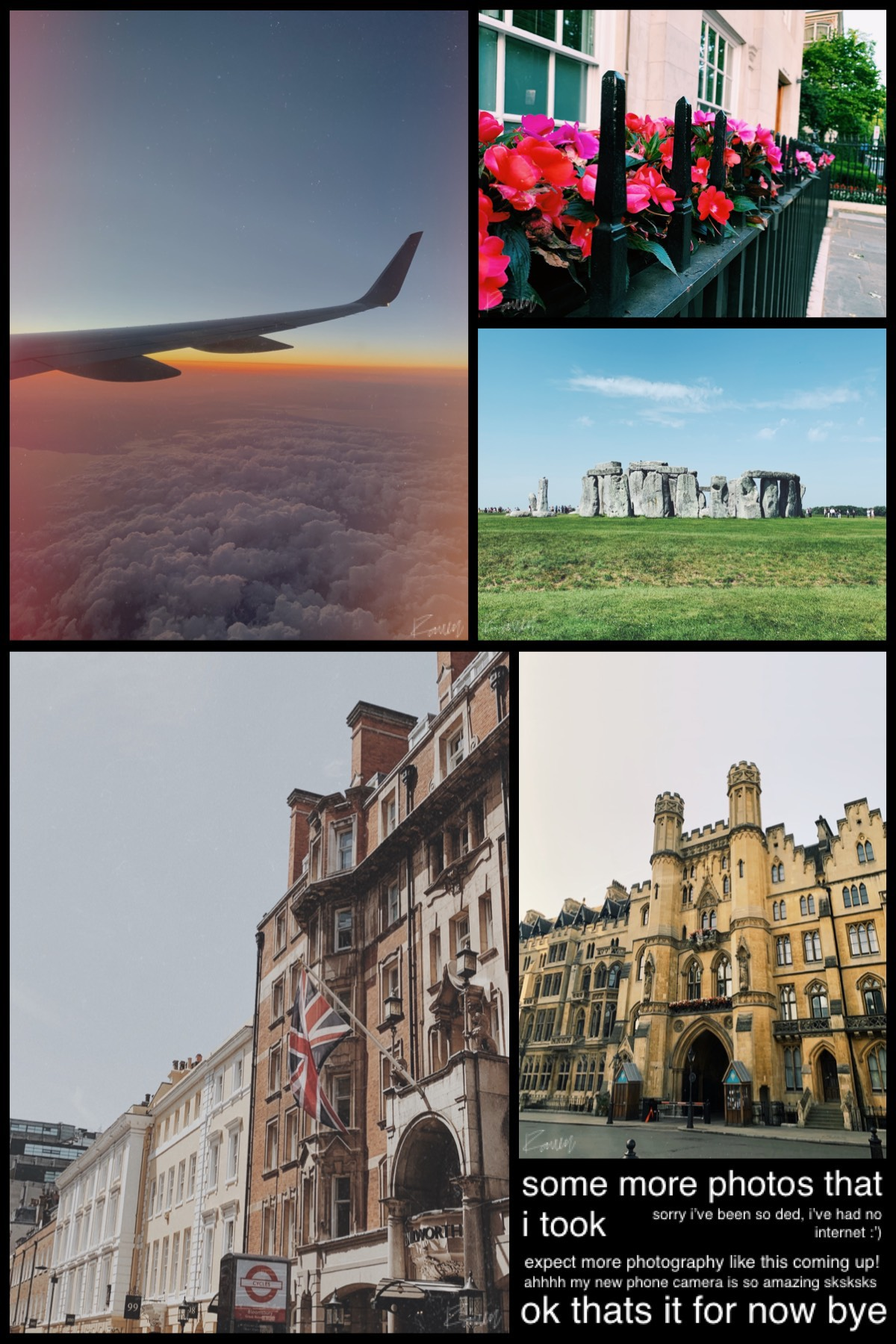 all pictures are mine! i'm overly proud of these 😂😂  i told y'all to expect photos :P  i'm so sad tho cuz big ben was covered in scaffolding, you couldn't see any of it so no pictures 😞