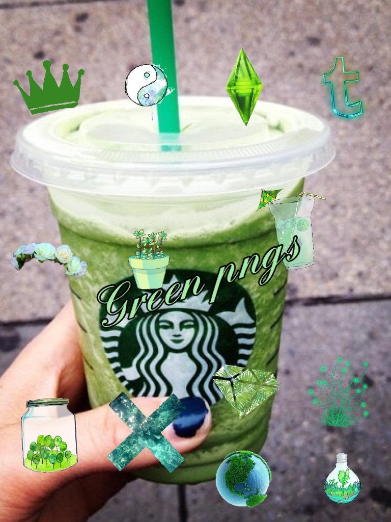 Green pngs