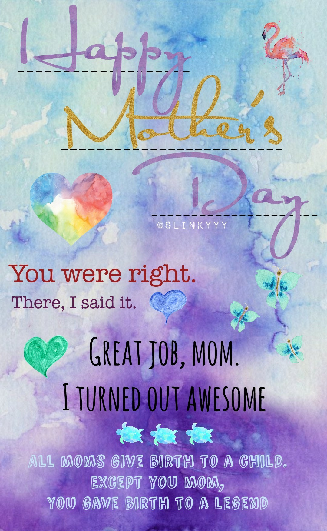 ♧click♧ HAPPY MOTHERS DAY (again for me lol) go do something extra special for your madre! ♡♡♡