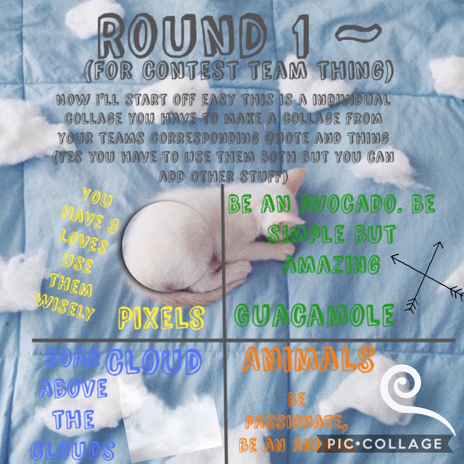 Round 1 ends on the 25th (aka Christmas) of December ~ Tik_Tok_Time
