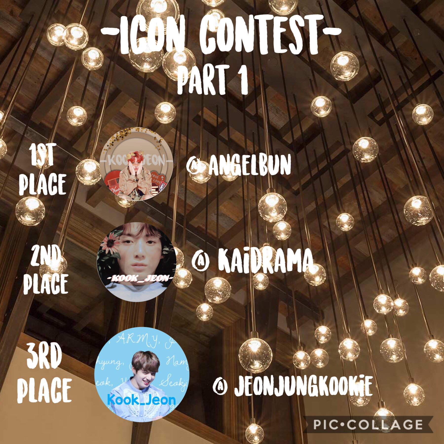 So I'll be doing parts because this one is Jungkook themed icons Then on part two is other Kpop idols.  Congrats! To those who were placed!