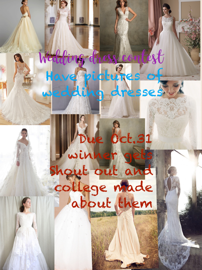 Due Oct.31 winner gets Shout out and college made about them!!!!