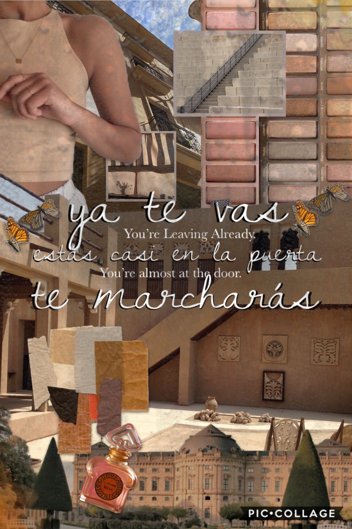 """lyrics from """"ya te vas"""" by natalia lacunza 😌 about to go get some rice-cakes and continue reading """"city of saints and thieves"""" by natalie c. anderson 💕 have you got any plans for the day? 🥰"""