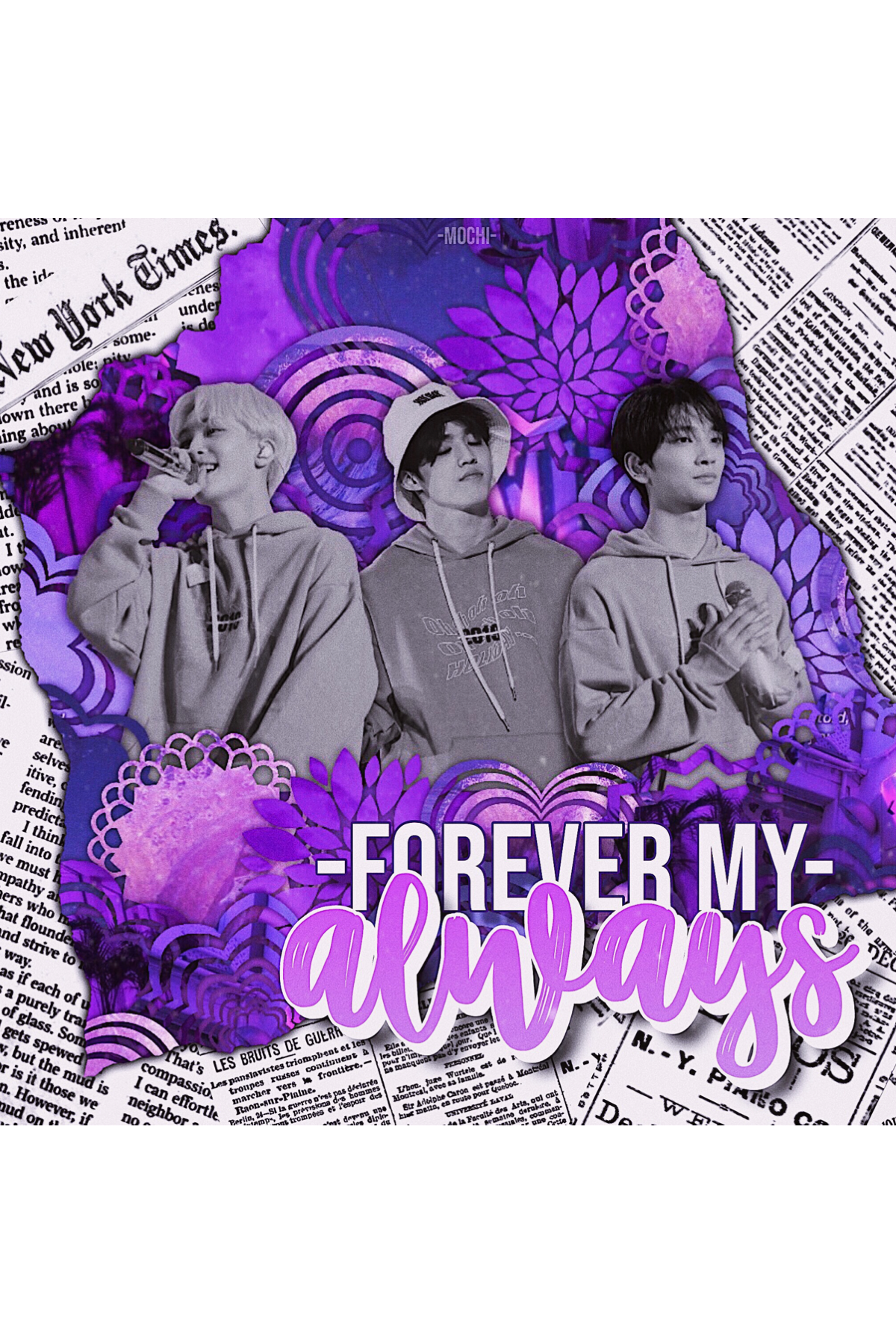 ☂️ tap ☂️ this is a sEvENtEEn edit that I made. I recently got into them haha~ hope you guys like it! I tried something a little new with the newspapers... thoughts?