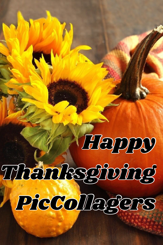 Happy Thanksgiving PicCollagers