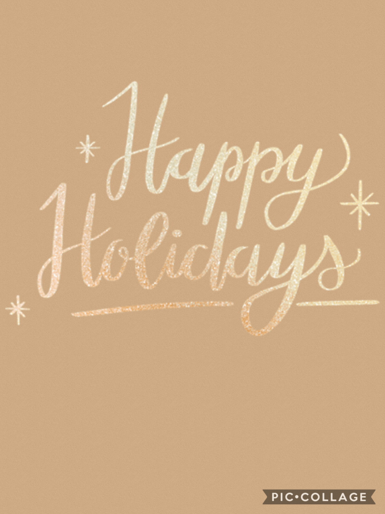 Happy Holidays to whatever you celebrate!
