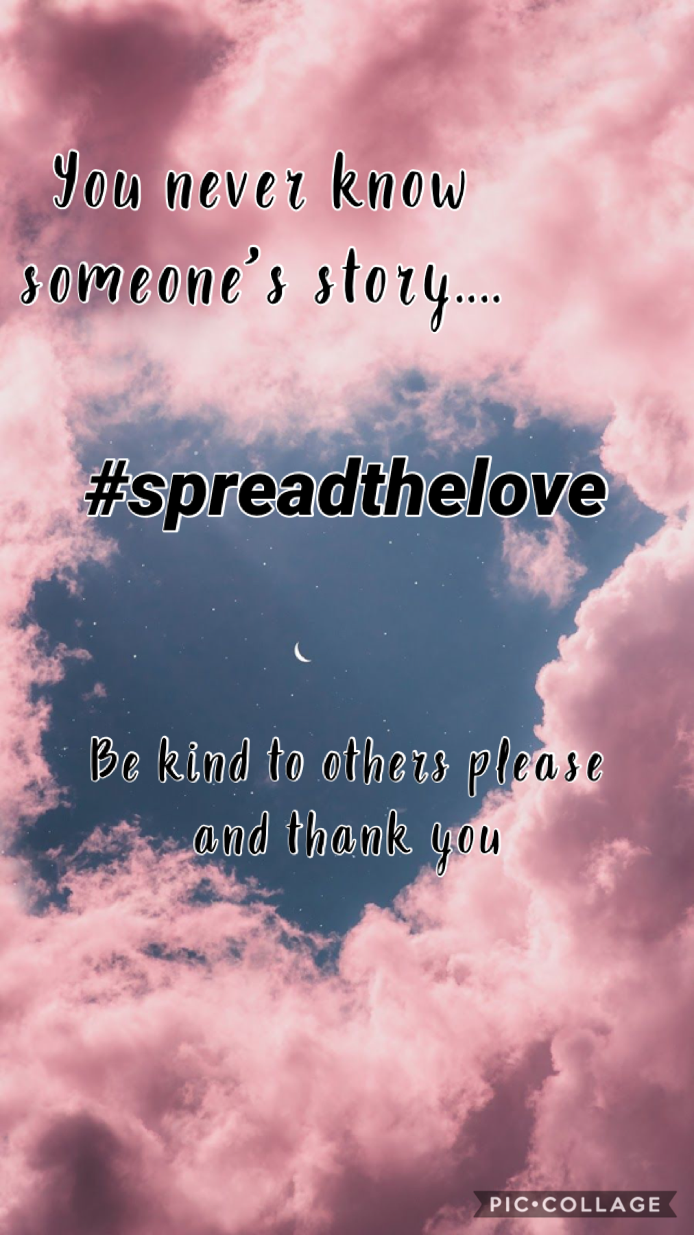 #spreadthelove ~Tap~  I see people bring other people bringing others down all the time, even just a small word can have a big impact. Be kind and Spread The Love 💗