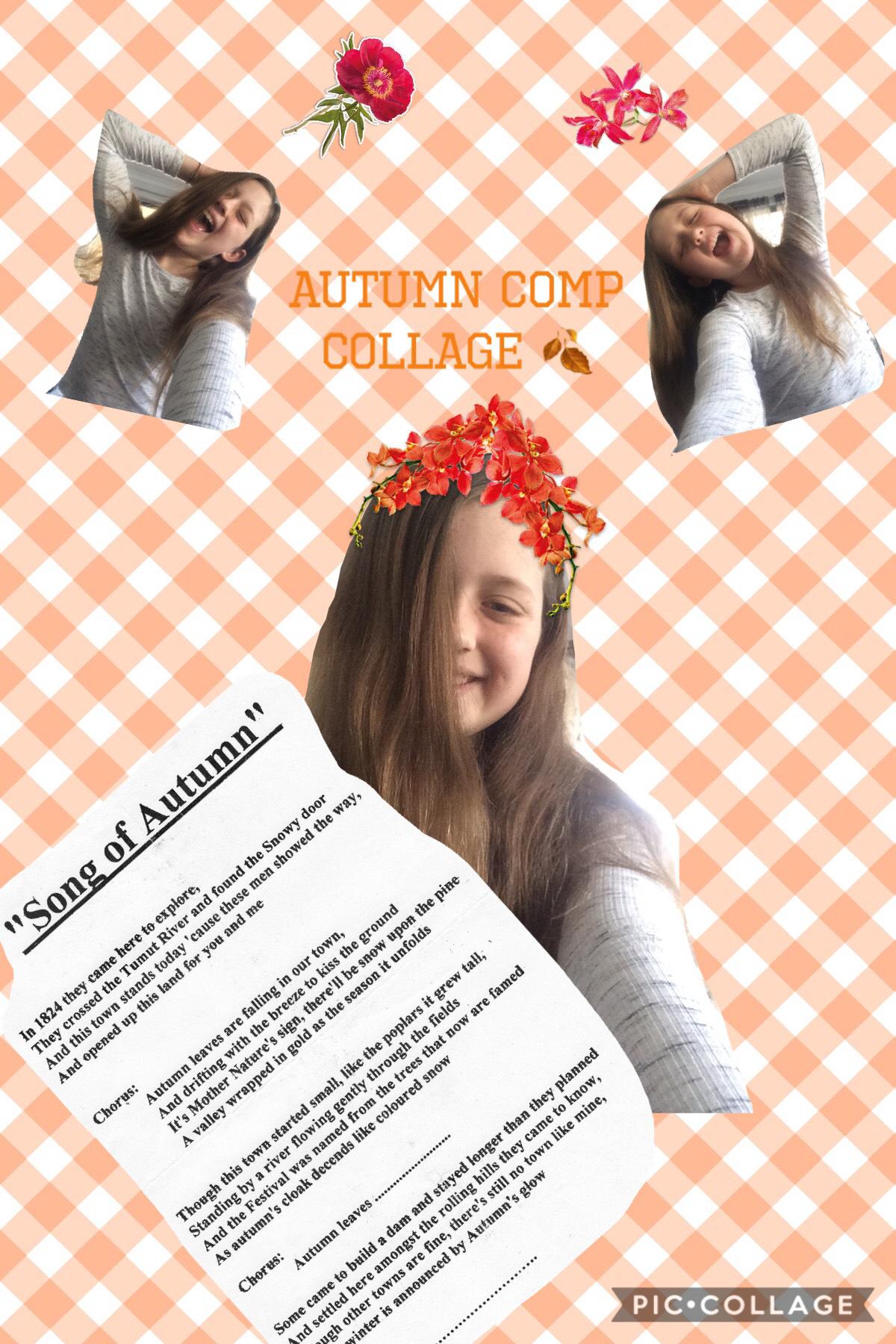 Autumn comp collage