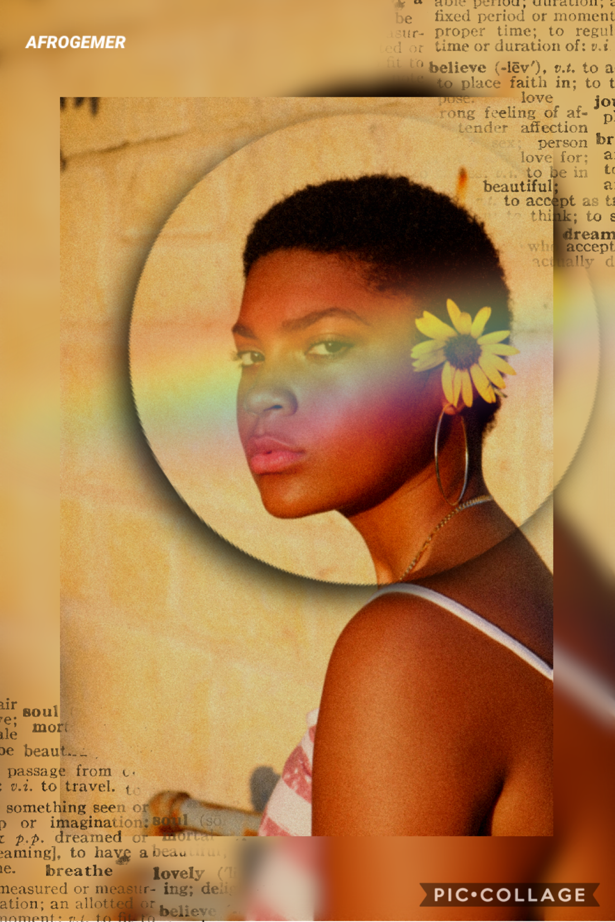 Collage by AFROGEMER