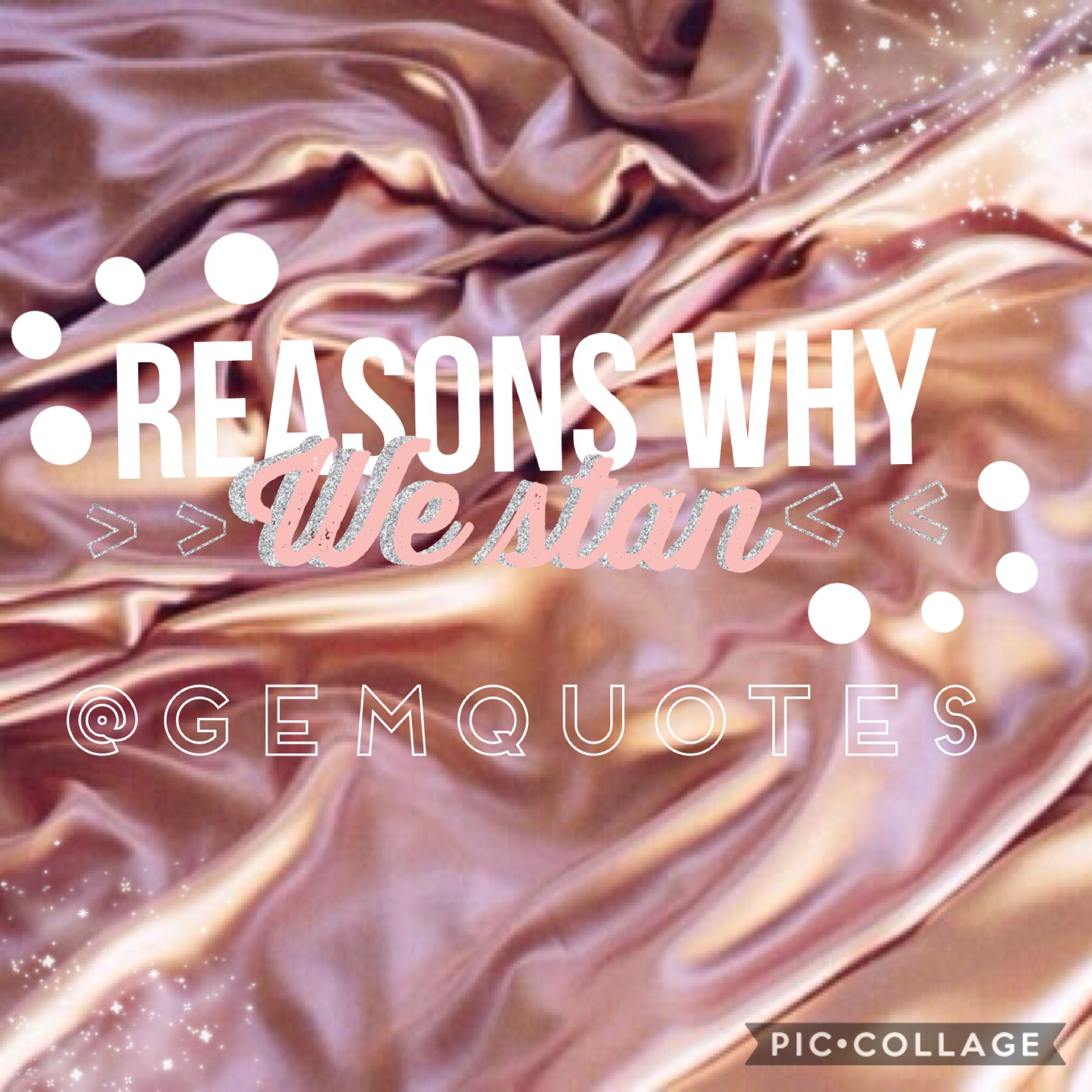 TAPPP✨ Hi so I made this fanpage becuase @gemquotes is a legend and she's v creative and she deserves this💓🏹👼🏼 we love you queen💓💓✨✨✨👑👑my main is @angelduhst