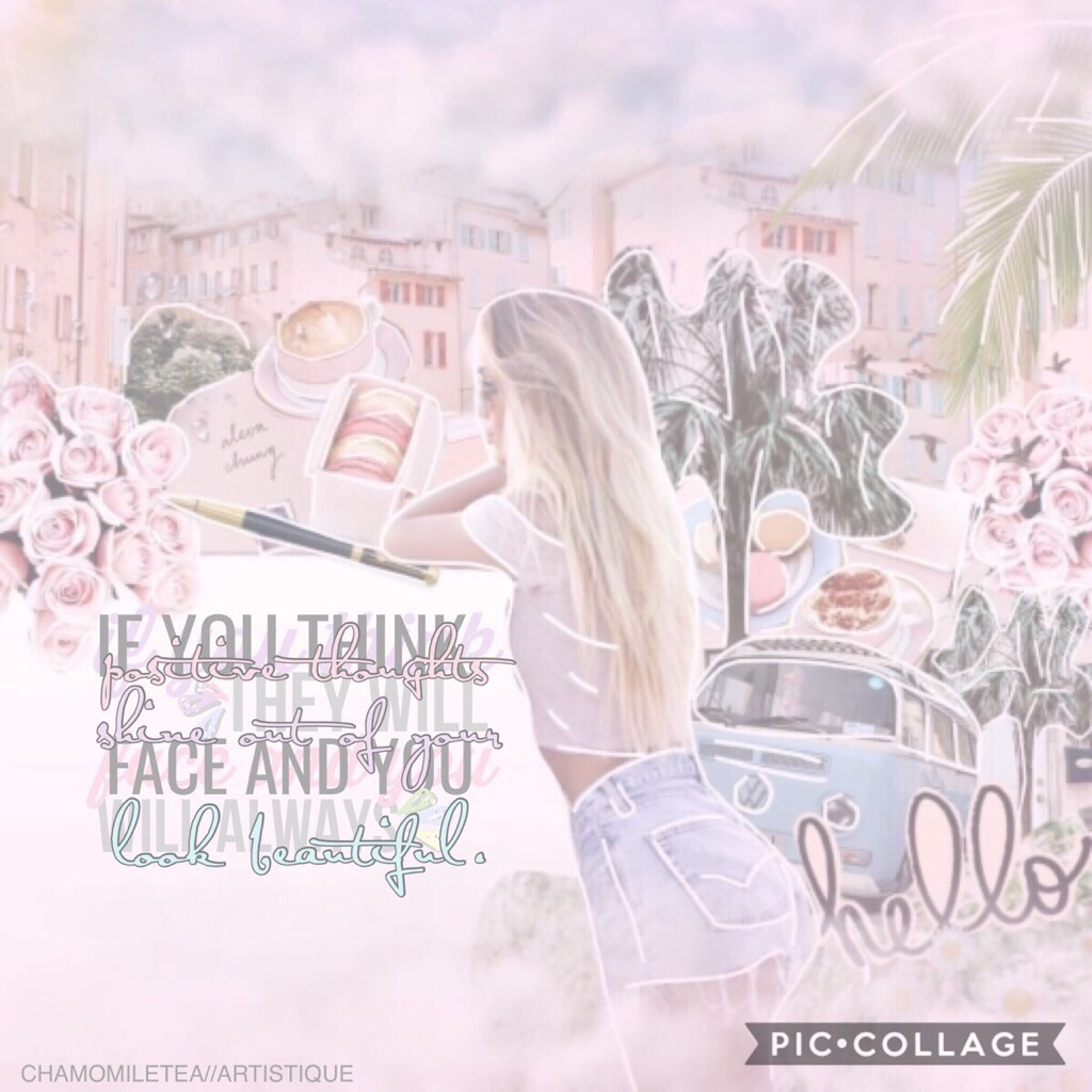 🍜COLLAB WITH...🍜 MY RAM BUDDY @chamomiletea !!💕😱She is THE @chamomiletea and she is legit incredible 🙌🏻💗 I did the background and she did the AMAZING text 🌿🌤💫  *check remixes*  pconly