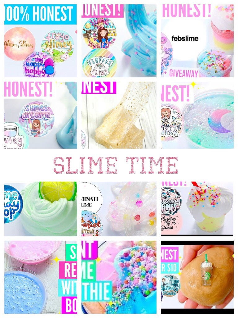 Slime time the best 👌🏻