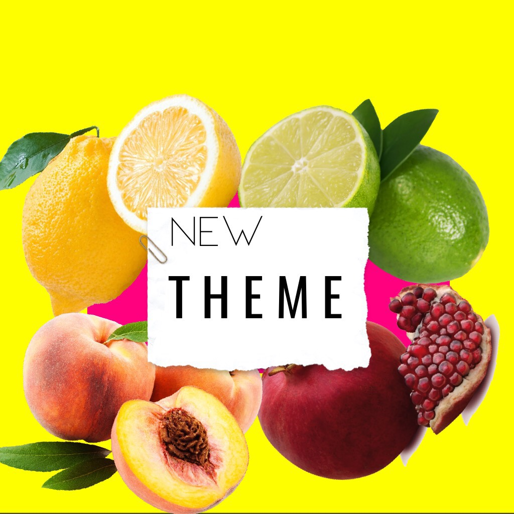 •T A P• ok so I'll be doing a new theme for a little while...it has to do with kinda neon but funny enough not fruit. cactus.😂😂anyway i'm super excited!!!! yayayayayya ALSO EM ILY I'll MISS YOU😭💗
