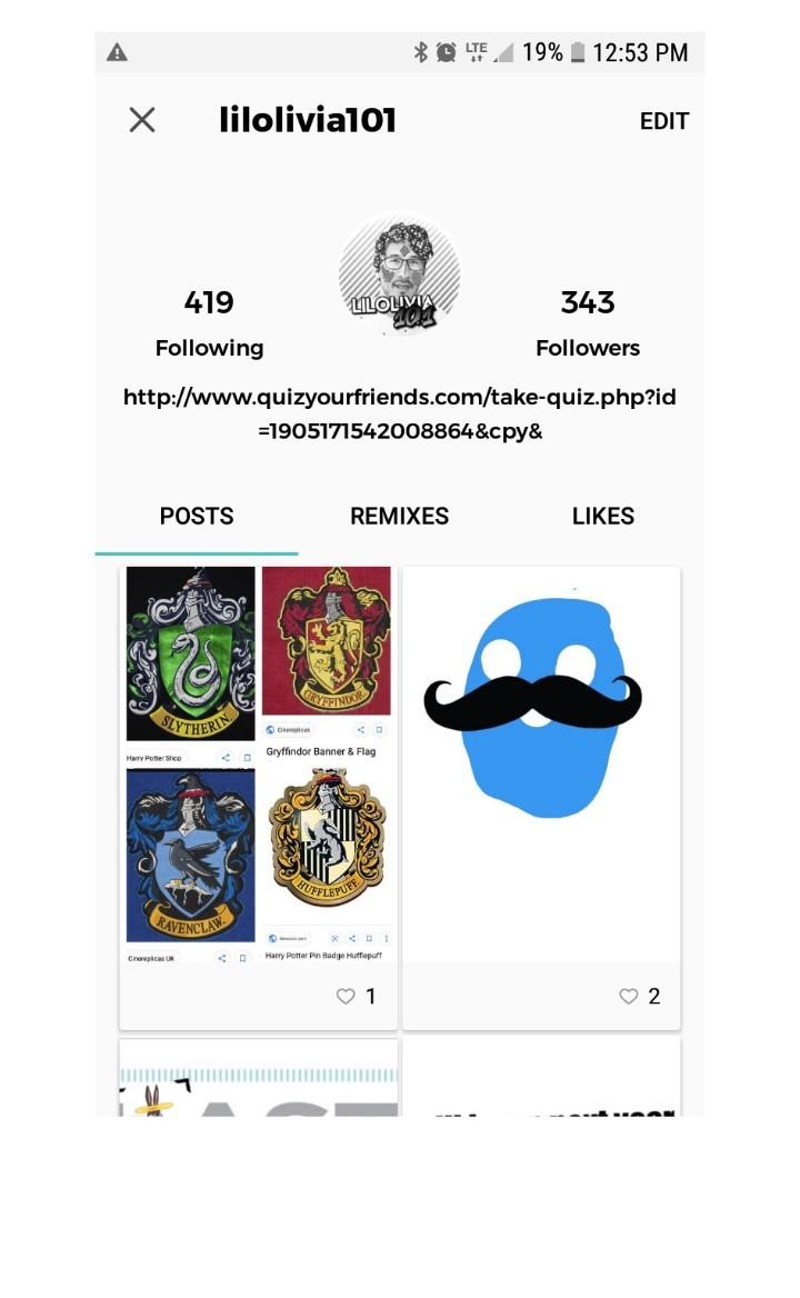thx for 343 followers