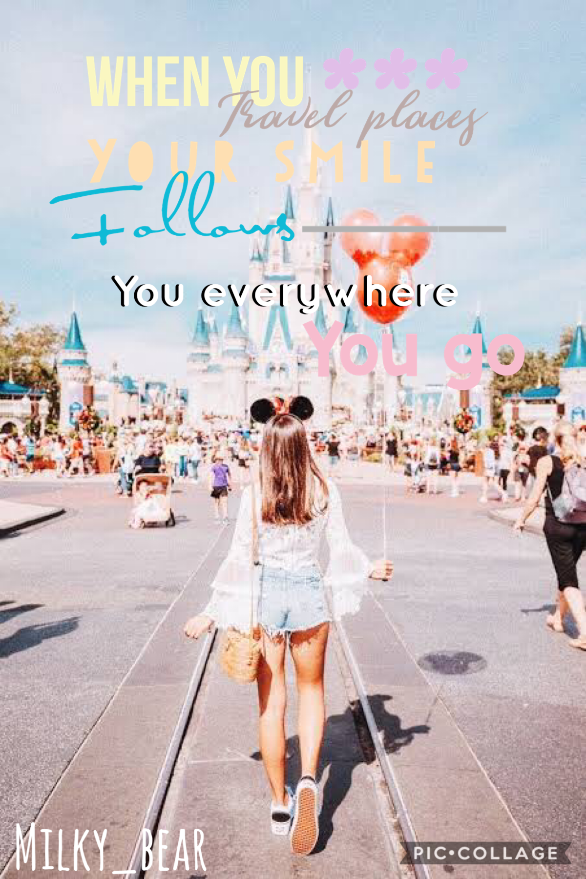I think I might start Disney themed collages or something I don't know ? How was everyone's Valentine's Day did anyone go out or have a vaulting I am a single Pringle well I am glad I am single I am to young I don't like boys anyway 💛