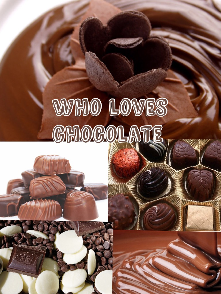 Who loves chocolate as much as I do? Comment down below and make sure to heart it