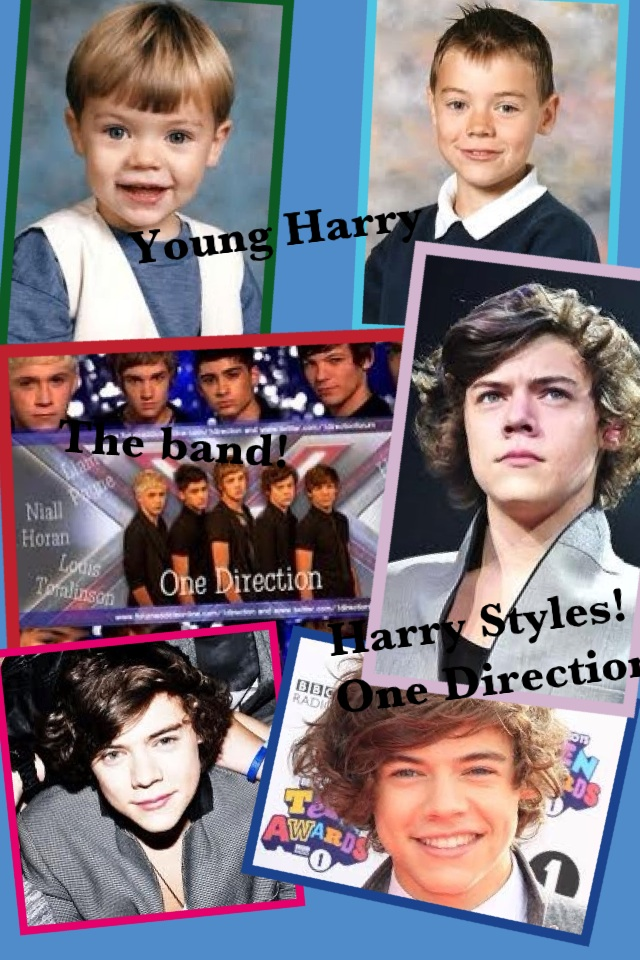 Harry Styles Collage @harry_styles