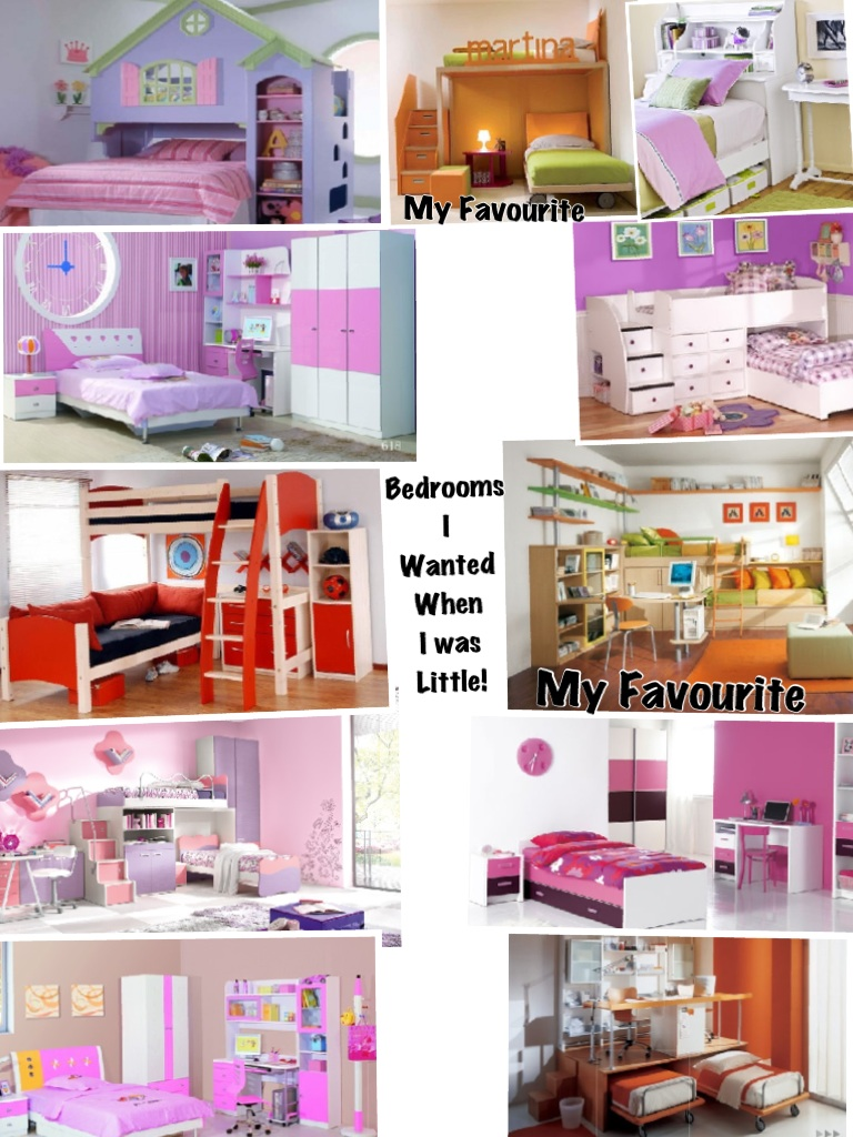 Bedrooms I wanted when I was little!