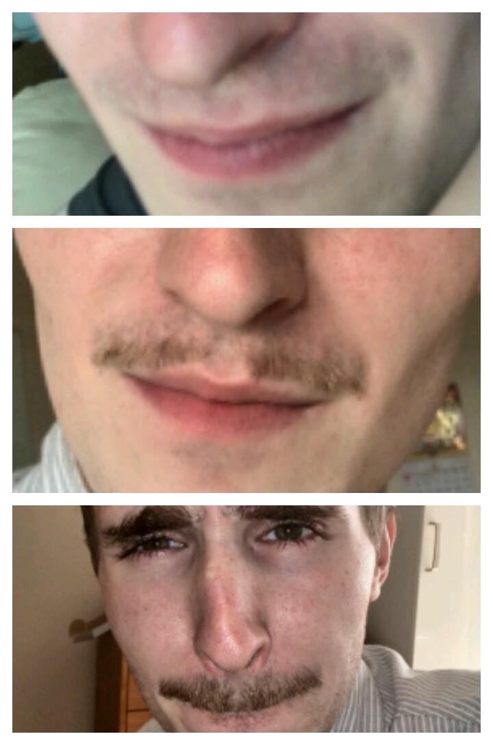 #iwishihadamoustache Joseph  grew a moustache for the show #potentialfreeticket  ='D