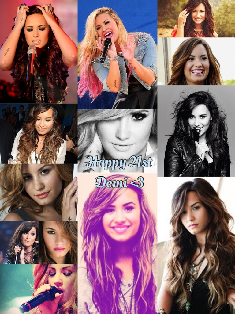 Happy 21st Demi <3 @ddlovato